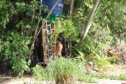 Muita construção de bambu